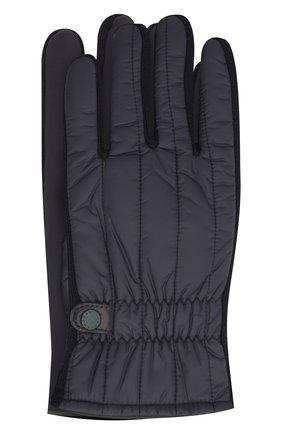 Мужские перчатки PAUL&SHARK темно-синего цвета, арт. I20P7200/H1U | Фото 1