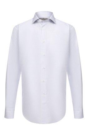 Мужская хлопковая сорочка CANALI голубого цвета, арт. 758/GD01949 | Фото 1