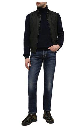Мужские кожаные ботинки m127 FRACAP зеленого цвета, арт. M127/P0NY/IMB.NEBR./CALFSKIN/CANNA FUCILI/R0CCIA | Фото 2