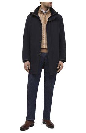 Мужской кашемировый свитер FIORONI бежевого цвета, арт. MK21005C3 | Фото 2