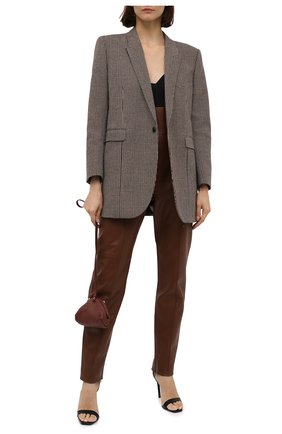 Кожаные брюки | Фото №2