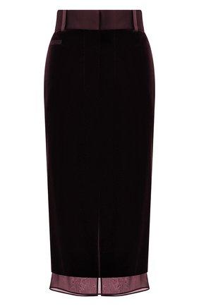 Женская юбка TOM FORD сиреневого цвета, арт. GC5521-FAX103 | Фото 1