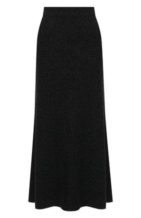 Женская юбка из кашемира и шерсти RALPH LAUREN темно-серого цвета, арт. 293835481 | Фото 1