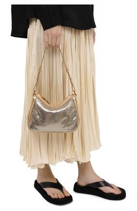 Женская сумка sydney BY FAR золотого цвета, арт. 20FWSYSGDMTMMED   Фото 2