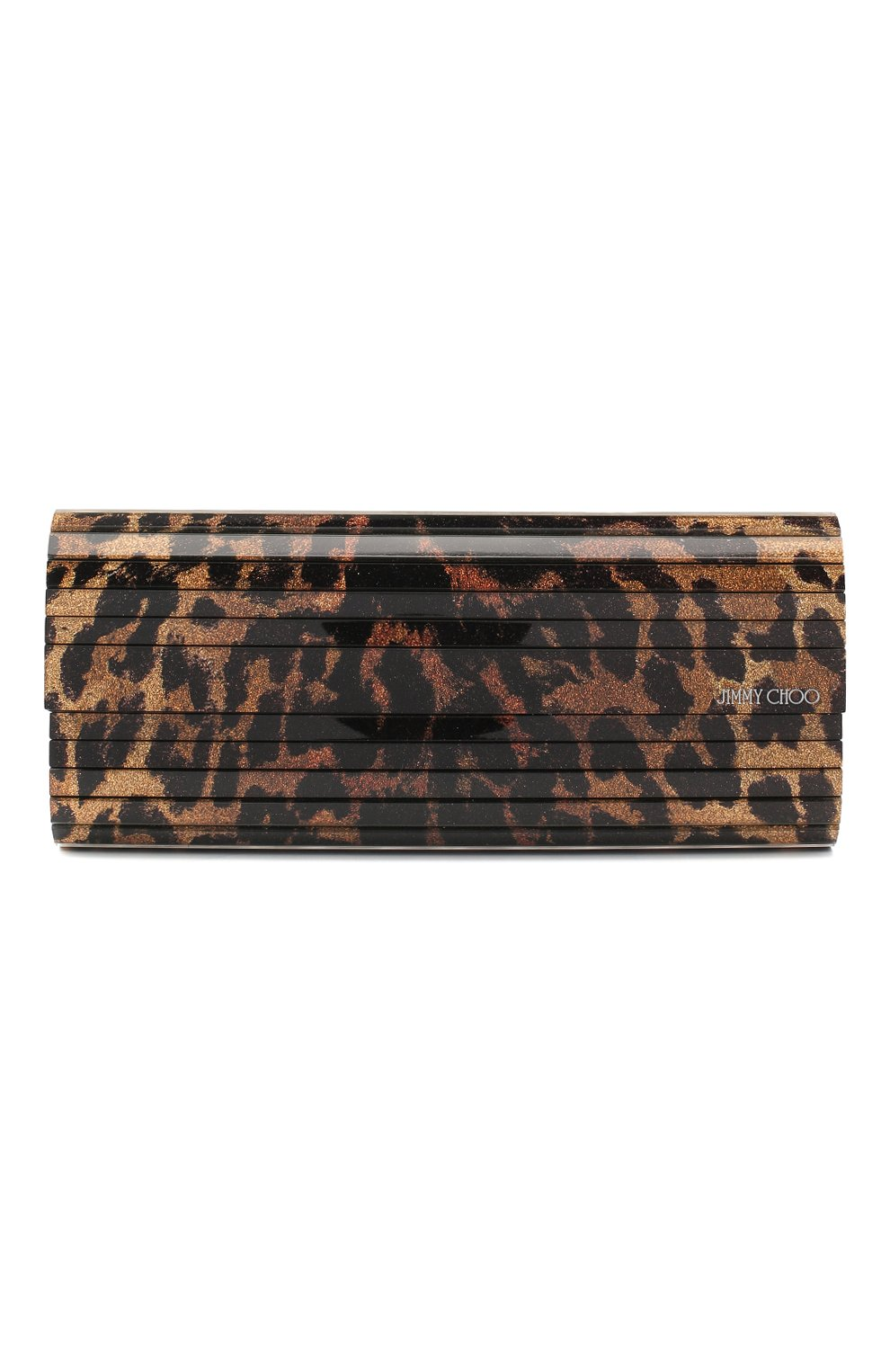 Женский клатч sweetie JIMMY CHOO леопардового цвета, арт. SWEETIE/BRA | Фото 1