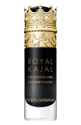 Пудровая подводка для глаз royal kajal, midnight black DOLCE & GABBANA бесцветного цвета, арт. 3123950DG | Фото 1