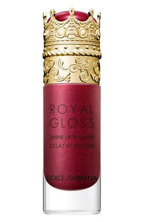 Блеск для губ с эффектом объема royal gloss, precious dahlia DOLCE & GABBANA бесцветного цвета, арт. 30700088DG | Фото 1