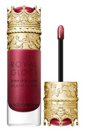 Блеск для губ с эффектом объема royal gloss, precious dahlia DOLCE & GABBANA бесцветного цвета, арт. 30700088DG | Фото 2