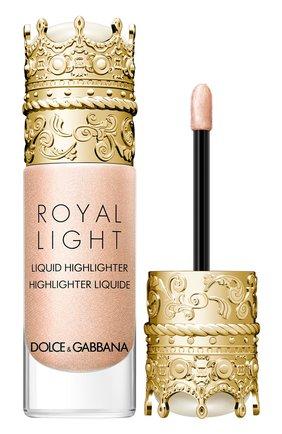 Женский жидкий хайлайтер royal light, оттенок diamond pink DOLCE & GABBANA бесцветного цвета, арт. 30700092DG | Фото 2