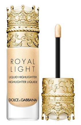 Жидкий хайлайтер royal light, оттенок divine gold DOLCE & GABBANA бесцветного цвета, арт. 3124150DG | Фото 2