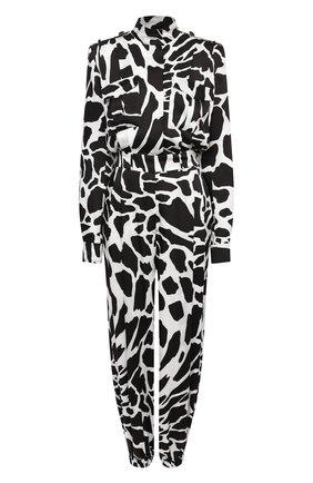 Женский комбинезон ALEXANDRE VAUTHIER черно-белого цвета, арт. 204JS1353 1368-204 | Фото 1