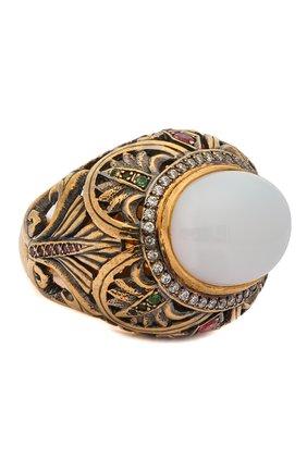 Женское кольцо imperator QUEENSBEE разноцветного цвета, арт. 102045/21,39 | Фото 1