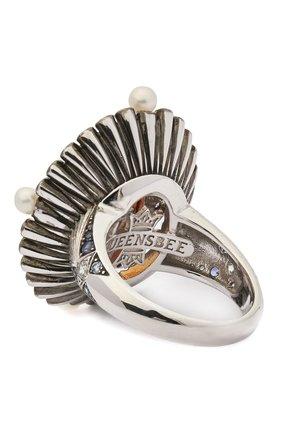Женское кольцо QUEENSBEE серебряного цвета, арт. 101385/15,96 | Фото 2