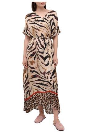 Женская платье EVA B.BITZER бежевого цвета, арт. 20312552 | Фото 2