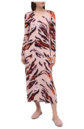 Женская сорочка EVA B.BITZER светло-розового цвета, арт. 20302076 | Фото 2