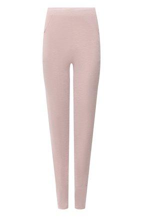 Женские леггинсы EVA B.BITZER светло-розового цвета, арт. 20300568 | Фото 1