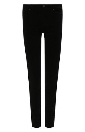 Женские брюки 7 FOR ALL MANKIND черного цвета, арт. JSWTV650NJ | Фото 1