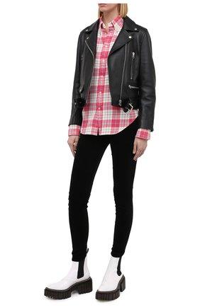 Женские брюки 7 FOR ALL MANKIND черного цвета, арт. JSWTV650NJ | Фото 2
