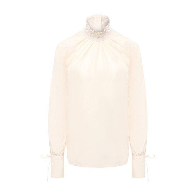 Хлопковая блузка Wales Bonner