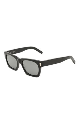 Женские солнцезащитные очки SAINT LAURENT черного цвета, арт. SL 402 | Фото 1