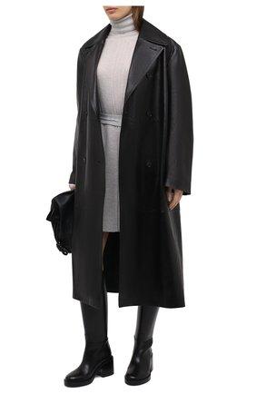 Женское платье HELMUT LANG серого цвета, арт. K06HW707 | Фото 2