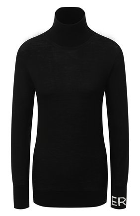 Женская шерстяная водолазка ERIKA CAVALLINI черного цвета, арт. W0/P/P0WD01 | Фото 1