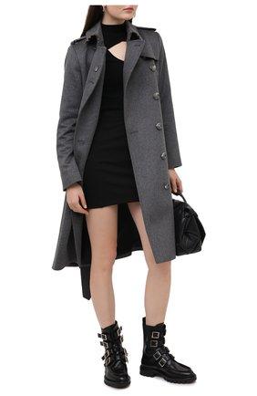 Женские кожаные ботинки SANTONI черного цвета, арт. WTCR59109HL1NBCKN01 | Фото 2