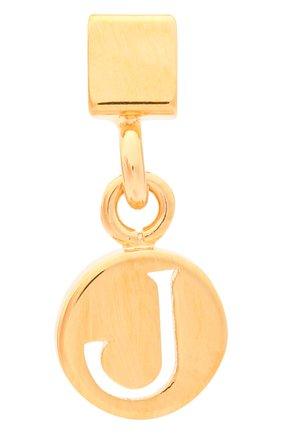 Женская подвеска с буквой j CHLOÉ золотого цвета, арт. CHC17UF01JCB7 | Фото 1 (Материал: Металл)