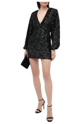 Женское платье из пайеток RETROFÊTE черного цвета, арт. SS20-2810 | Фото 2