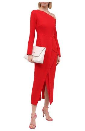 Женское шерстяное платье ROLAND MOURET красного цвета, арт. PW20/S0919/F4044   Фото 2