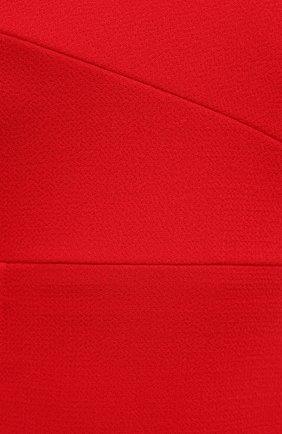 Женское шерстяное платье ROLAND MOURET красного цвета, арт. PW20/S0925/F4044   Фото 5