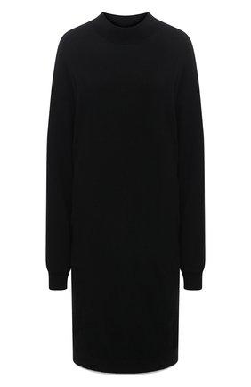Женский шерстяной пуловер Y`S черного цвета, арт. YR-T02-160   Фото 1