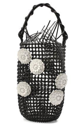 Женская сумка bucket LOEWE черного цвета, арт. A546W52X01 | Фото 1