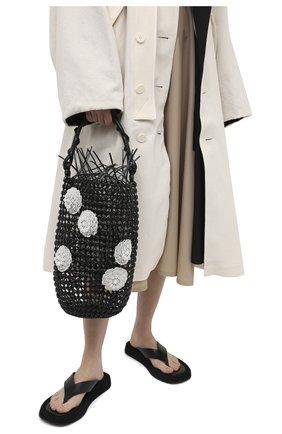 Женская сумка bucket LOEWE черного цвета, арт. A546W52X01 | Фото 2