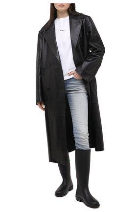 Женские сапоги F_WD черного цвета, арт. FW33091A/10131 | Фото 2