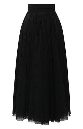 Женская юбка LORENA ANTONIAZZI черного цвета, арт. SI2016G0020/277   Фото 1