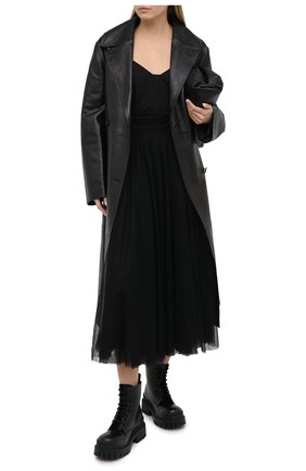 Женская юбка LORENA ANTONIAZZI черного цвета, арт. SI2016G0020/277   Фото 2