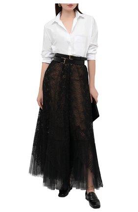 Женская юбка ZUHAIR MURAD черного цвета, арт. SKP20016/LMIX007   Фото 2