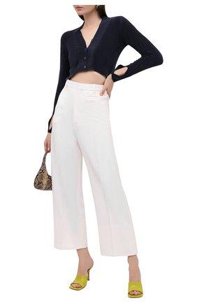 Женские брюки из шерсти и вискозы JACQUEMUS белого цвета, арт. 203PA04/120110 | Фото 2