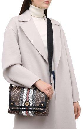 Женская сумка BURBERRY коричневого цвета, арт. 8026432 | Фото 2