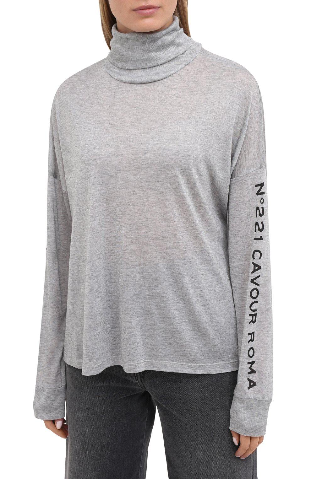 Женская водолазка 5PREVIEW серого цвета, арт. X111   Фото 3