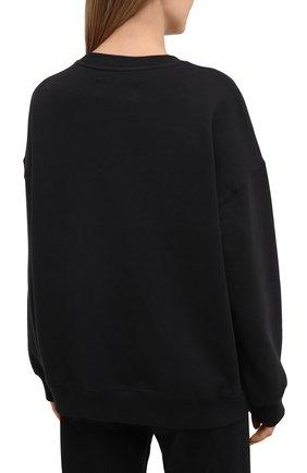 Женский хлопковый свитшот 5PREVIEW черного цвета, арт. X350   Фото 4