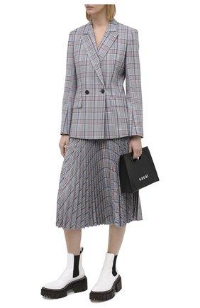 Женская юбка RAG&BONE серого цвета, арт. WAW20FB0082Y08 | Фото 2