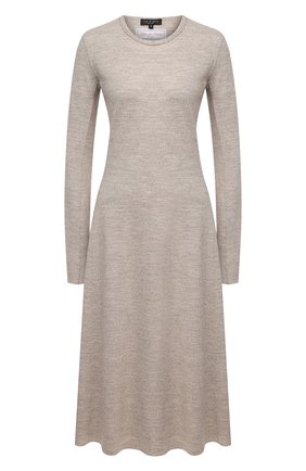 Женское шерстяное платье RAG&BONE светло-бежевого цвета, арт. WAW20F30520C52 | Фото 1