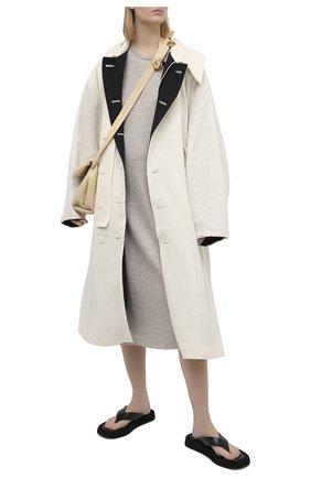 Женское шерстяное платье RAG&BONE светло-бежевого цвета, арт. WAW20F30520C52 | Фото 2