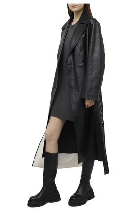 Женское кашемировое платье RAG&BONE темно-серого цвета, арт. WAS20FS0408L40 | Фото 2