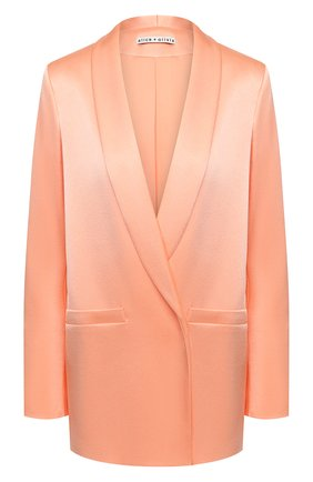 Женский жакет ALICE + OLIVIA оранжевого цвета, арт. CC004205212   Фото 1