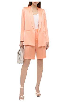 Женский жакет ALICE + OLIVIA оранжевого цвета, арт. CC004205212   Фото 2
