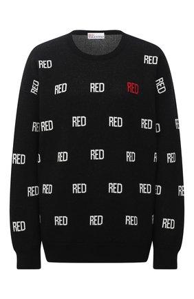 Женская свитшот REDVALENTINO черного цвета, арт. UR0KC04F/5FA | Фото 1