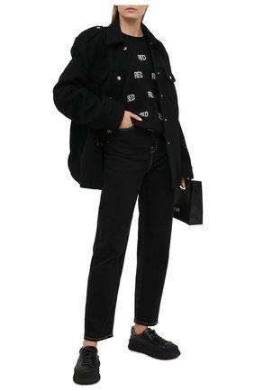 Женская свитшот REDVALENTINO черного цвета, арт. UR0KC04F/5FA | Фото 2